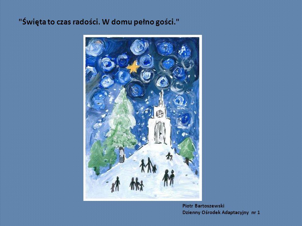 """Mariusz Józefiak Warsztat Terapii Zajęciowej """"Przylesie """"Święta to miły czas"""