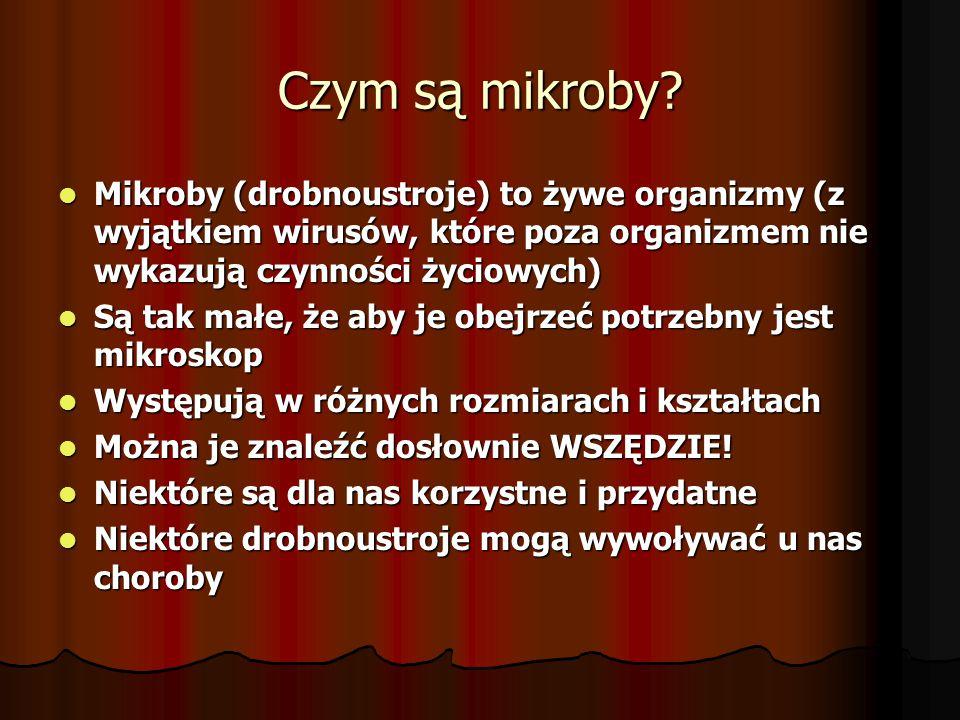 Czym są mikroby.