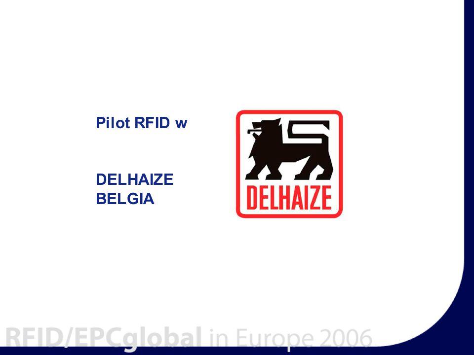 Pilot RFID w DELHAIZE BELGIA