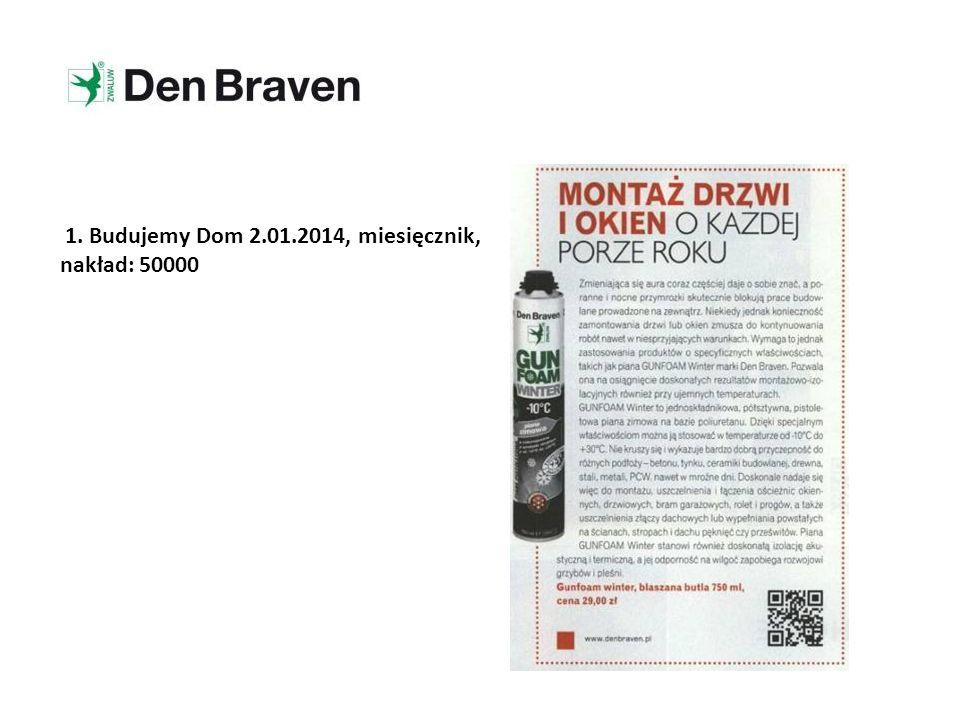 12. Polska Głos Wielkopolski 23.01.2014, dziennik, nakład: 47 810