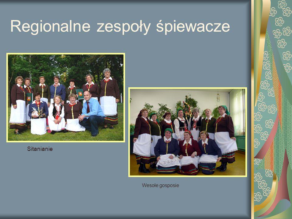 Regionalne zespoły śpiewacze Sitanianie Wesołe gosposie
