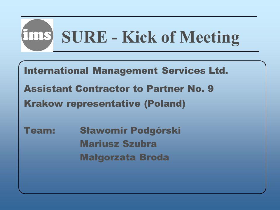SURE - Kick of Meeting International Management Services Ltd.