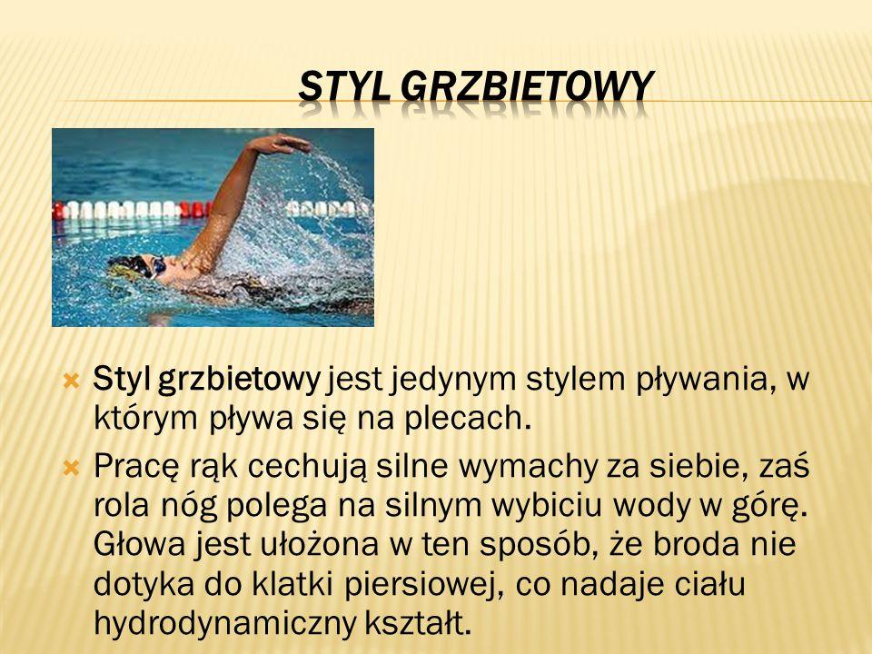 PIESEK Prosty styl pływacki.