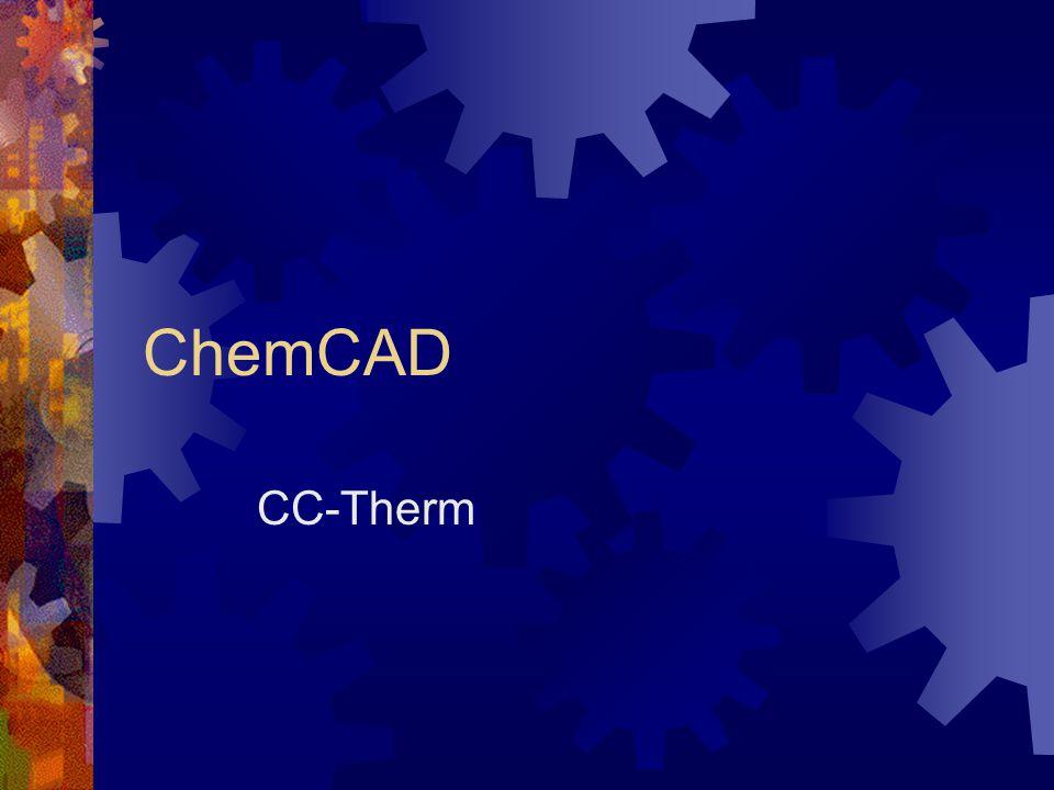 ChemCAD CC-Therm