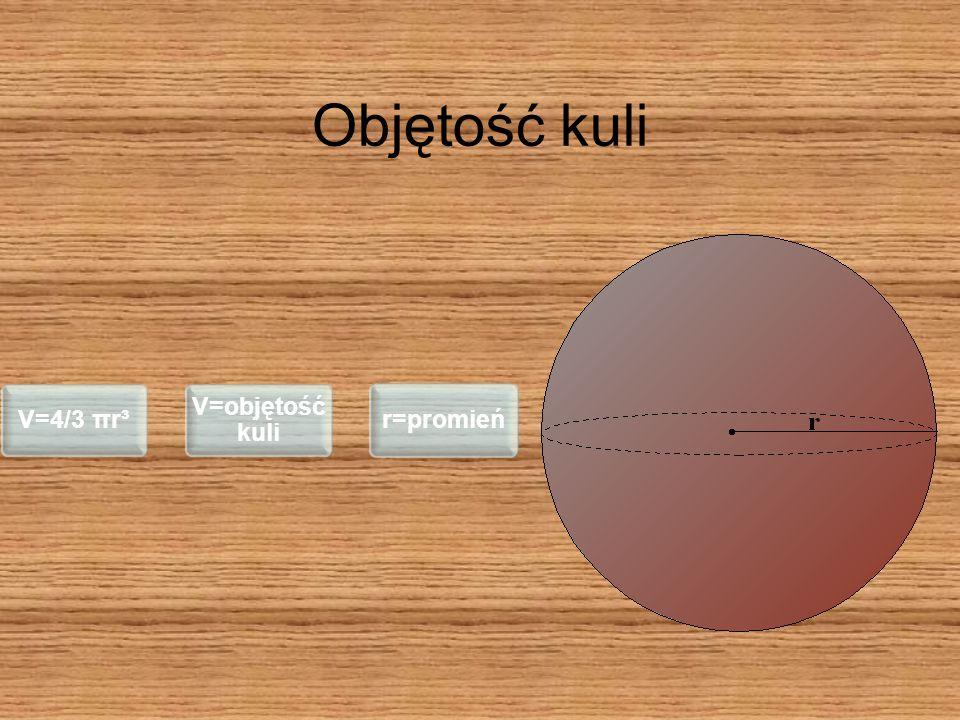 Kula jest bryłą obrotową powstałą przez obrót koła lub półkola dookoła prostej, w której zawarta jest jego średnica.