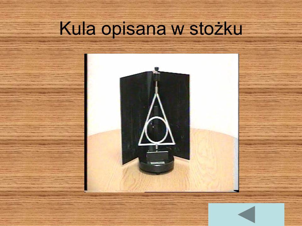 Kula opisana na stożku