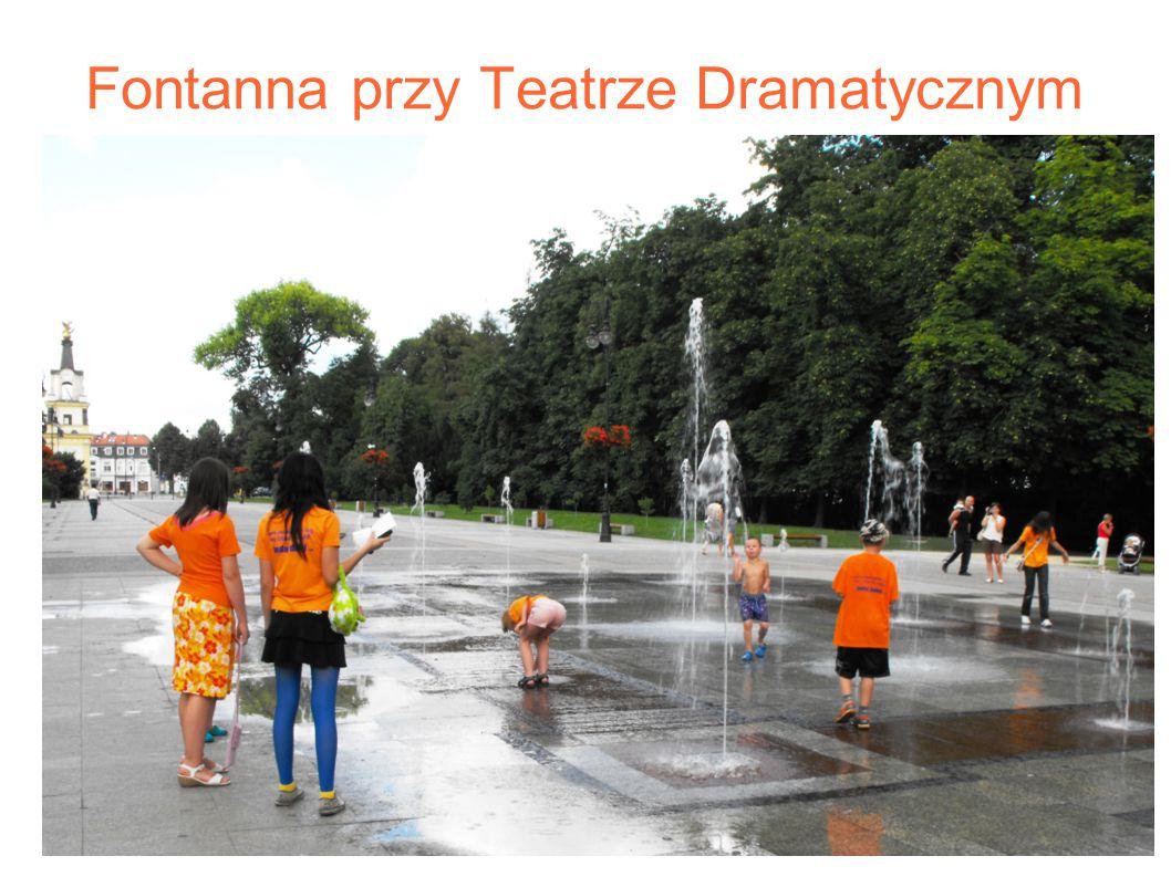 Fontanna przy Teatrze Dramatycznym