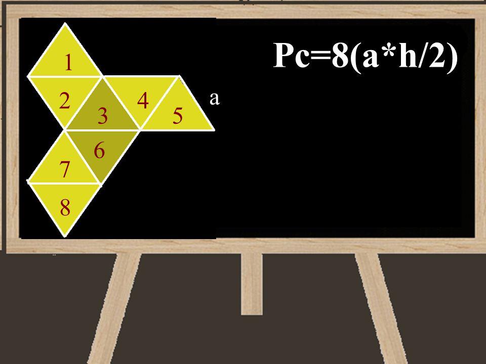 Pc=8(a*h/2) a 1 24 35 6 7 8