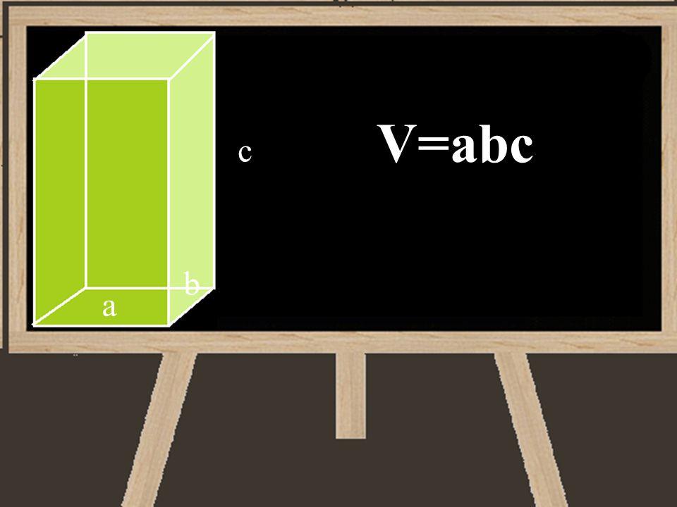 V=abc c a b