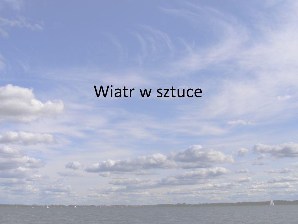 Julian Tuwim – Dwa wiatry Jeden wiatr - w polu wiał, Drugi wiatr - w sadzie grał: Cichuteńko, leciuteńko, Liście pieścił i szeleścił, Mdlał...