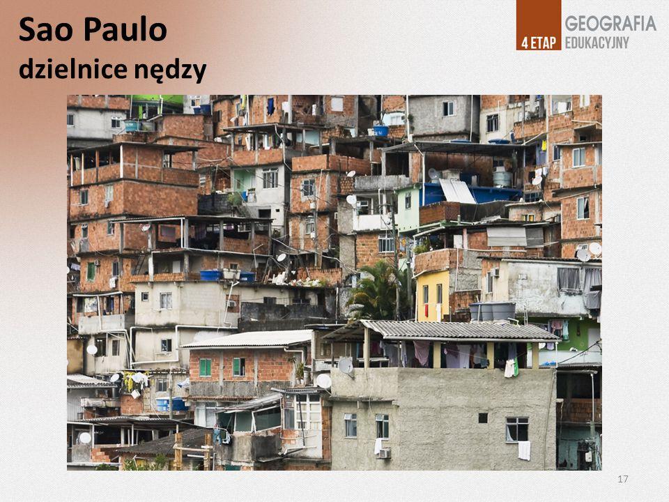 Sao Paulo dzielnice nędzy 17