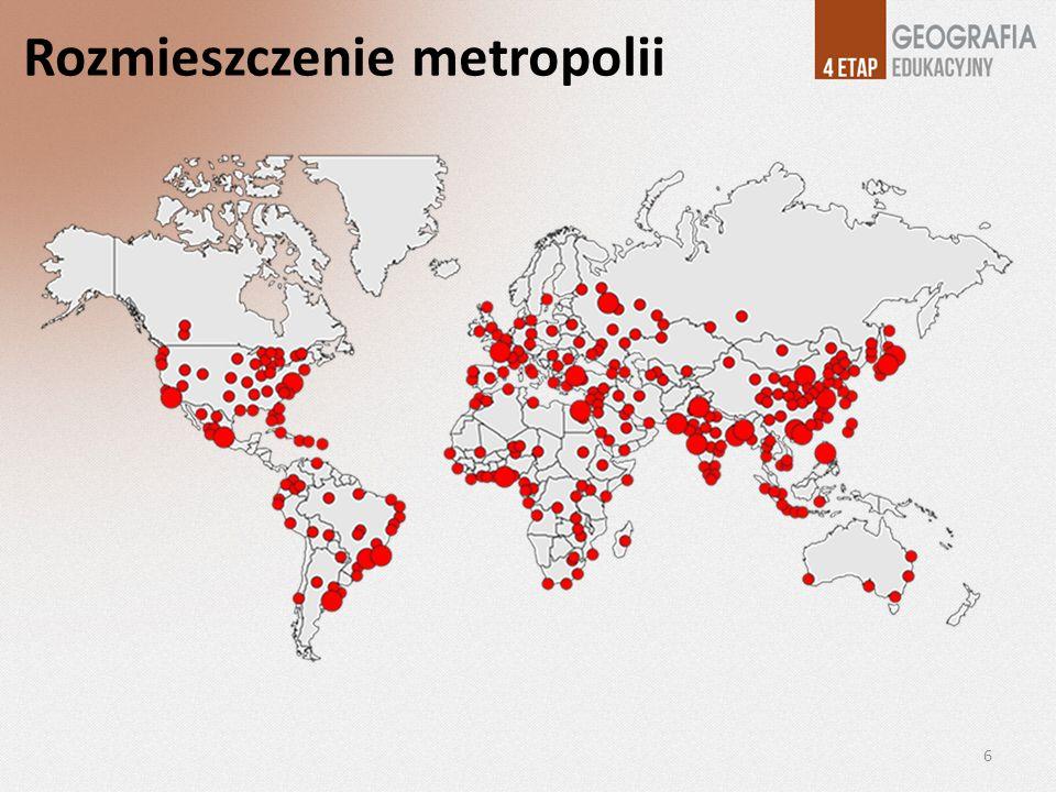 Przyczyny zmian liczby ludności miast w krajach rozwijających się 7