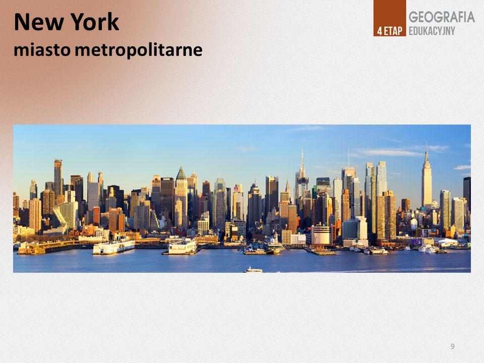 Najdroższą dzielnicą Nowego Jorku jest Manhattan, zamieszkały przez ponad 1,6 mln ludzi.