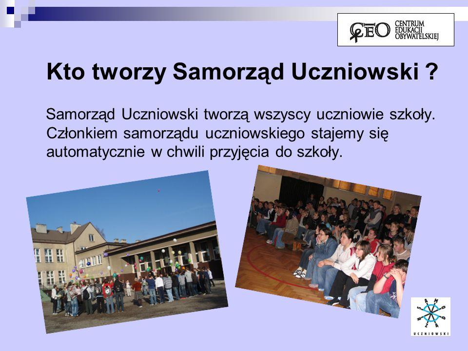 Czym zajmuje się Samorząd Uczniowski .