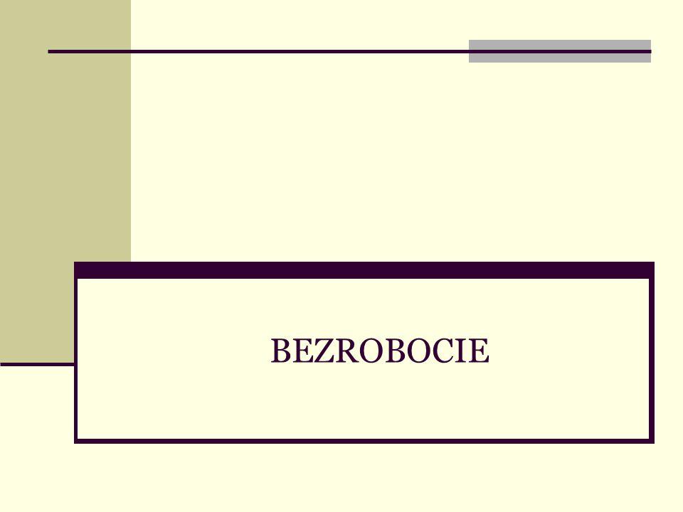 2 Bezrobocie – plan wykładu Charakter problemu Skutki bezrobocia Podstawowe definicje Rodzaje bezrobocia Przyczyny bezrobocia Bezrobocie w Polsce Polityka państwa wobec bezrobocia