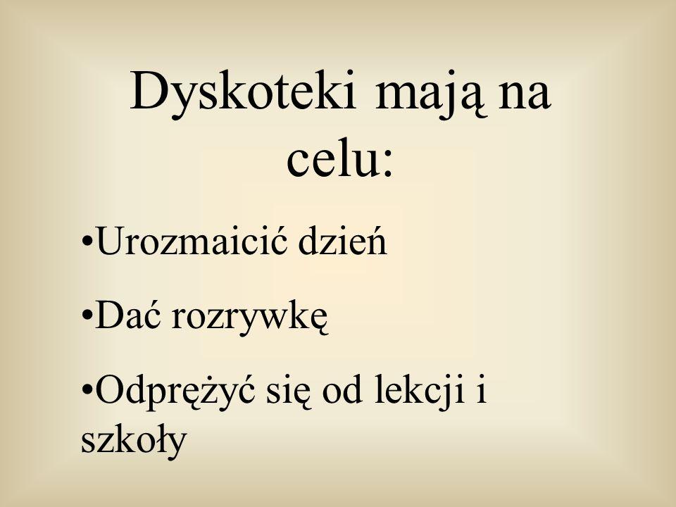 Dyskoteki