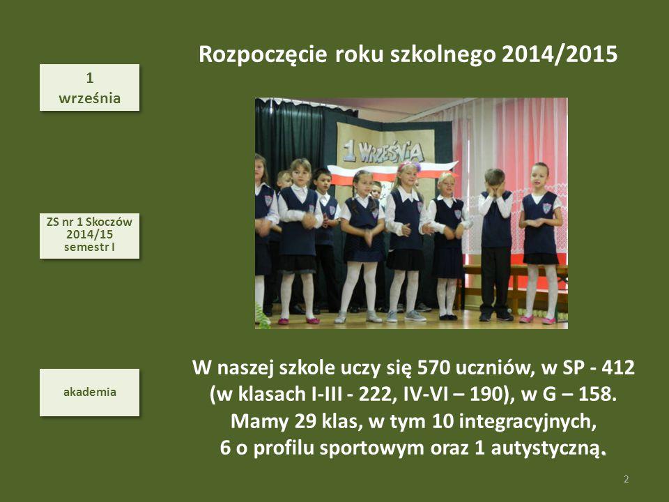 30 października 30 października sport 53 ZS nr 1 Skoczów 2014/15 semestr I ZS nr 1 Skoczów 2014/15 semestr I SPORT Cz.