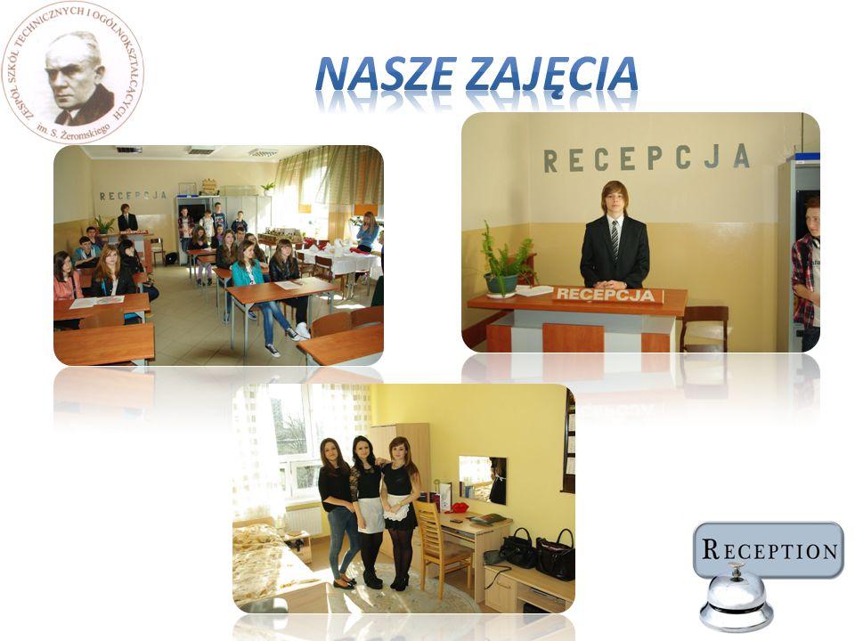 Umiejętności praktyczne uczniowie zdobywają podczas miesięcznych praktyk zawodowych w klasie drugiej i trzeciej w najlepszych hotelach w Częstochowie.