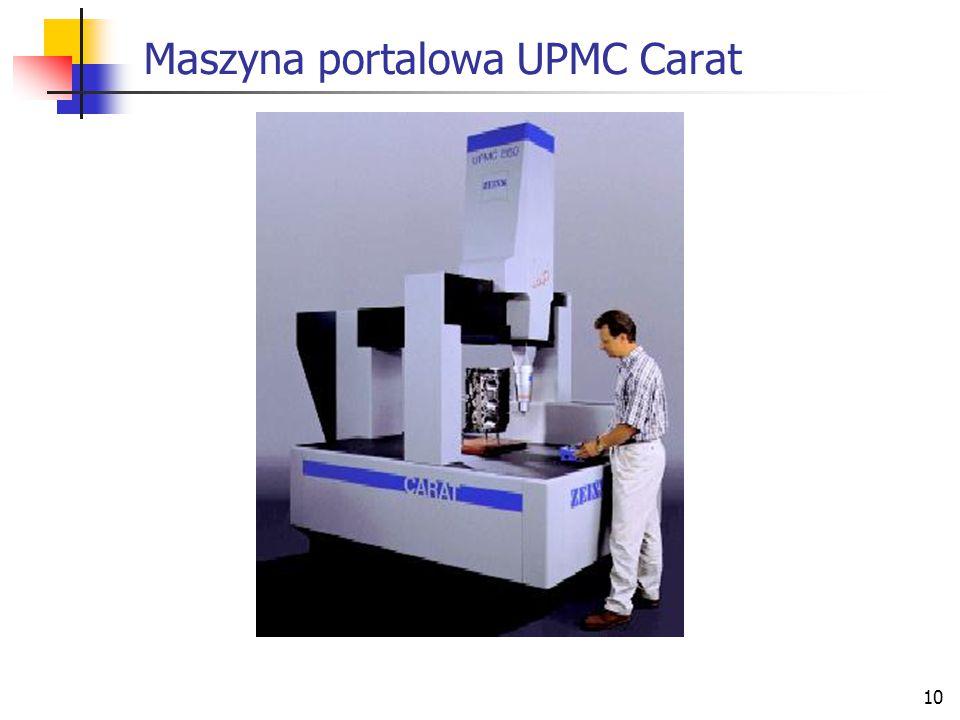 10 Maszyna portalowa UPMC Carat