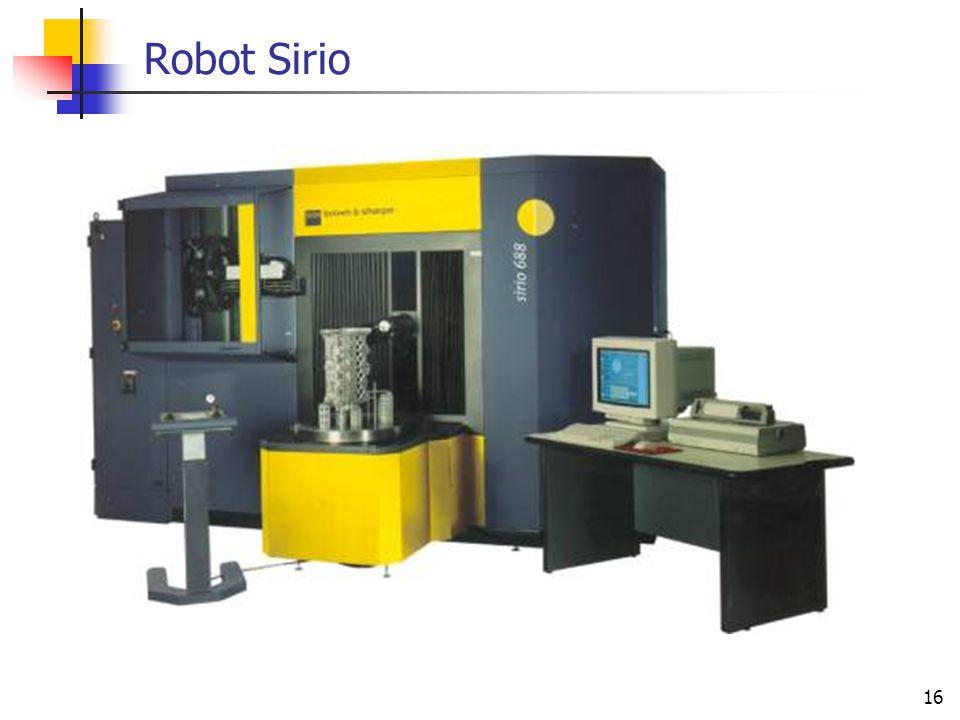 16 Robot Sirio