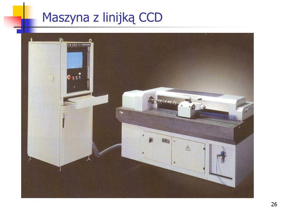 26 Maszyna z linijką CCD