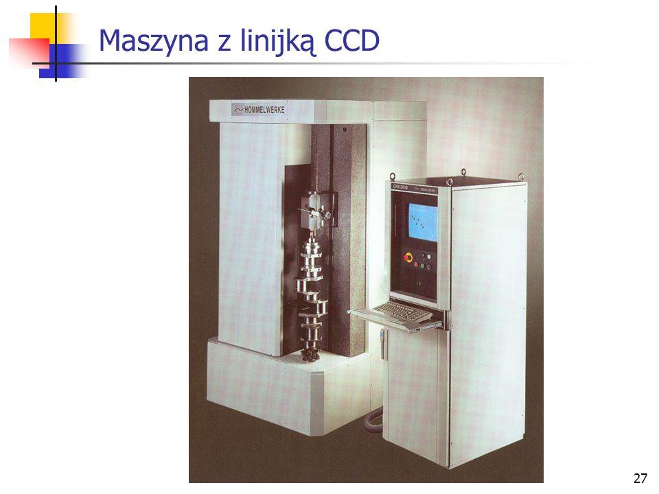 27 Maszyna z linijką CCD