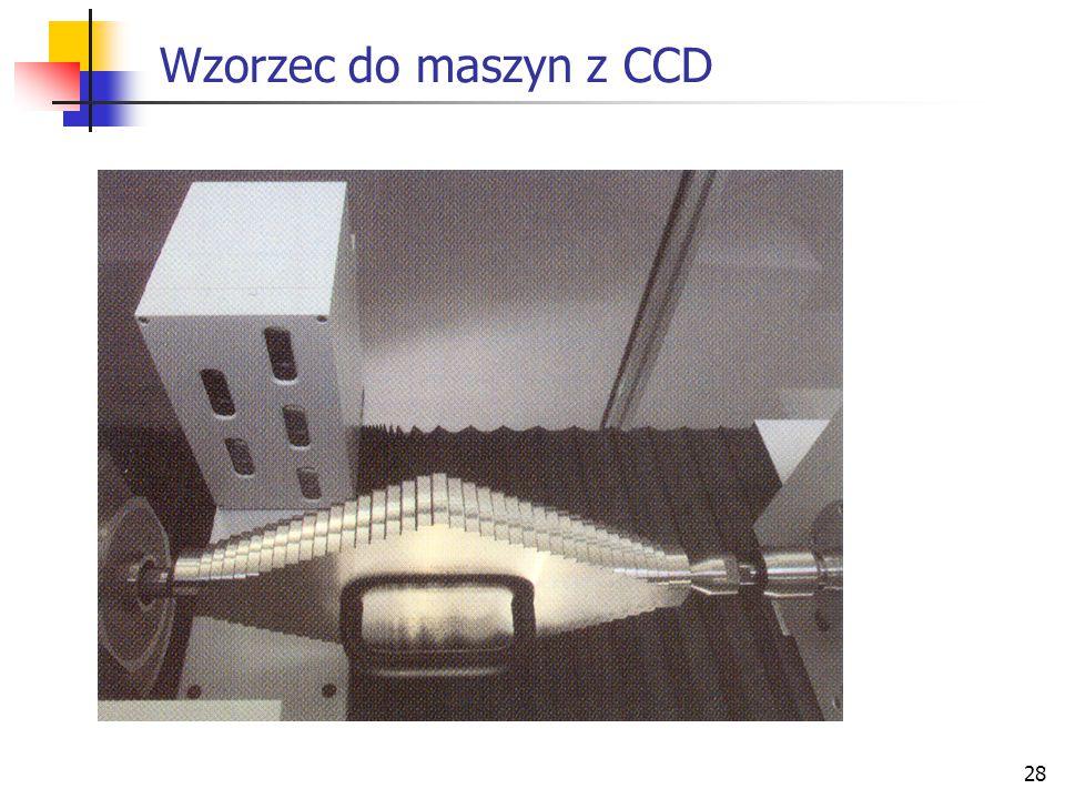 28 Wzorzec do maszyn z CCD