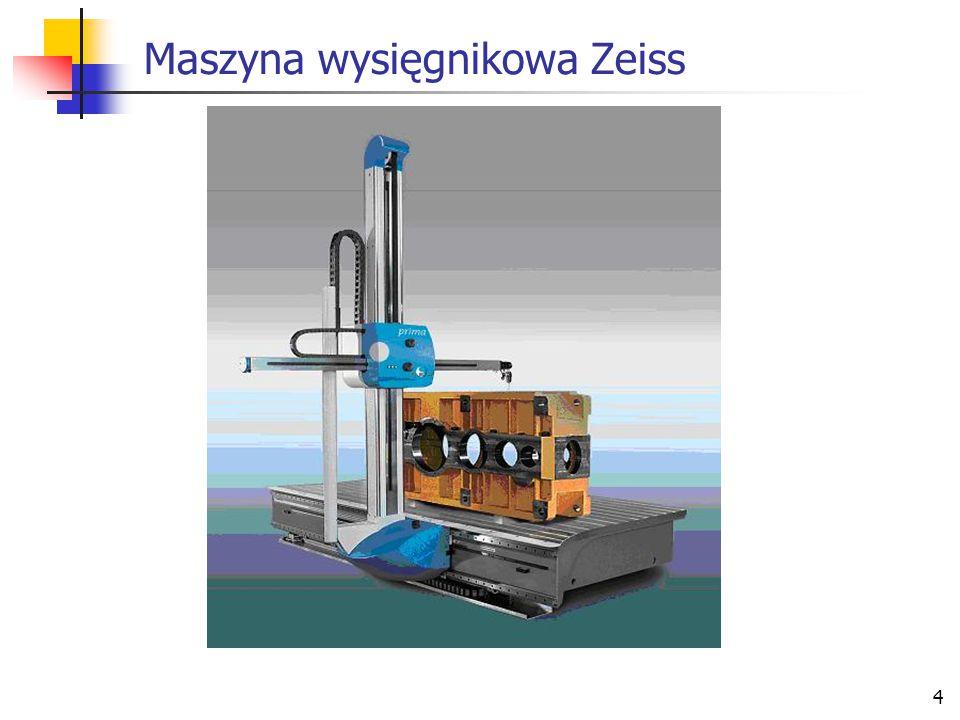 4 Maszyna wysięgnikowa Zeiss