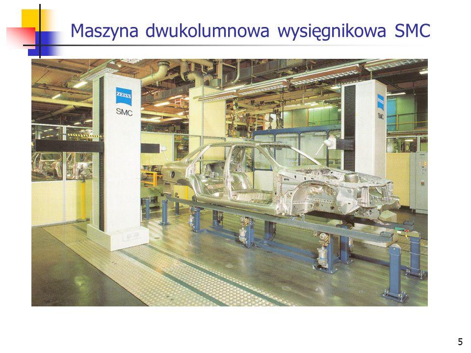 5 Maszyna dwukolumnowa wysięgnikowa SMC