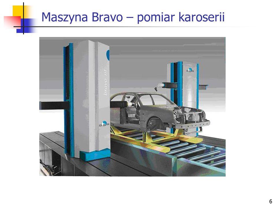 6 Maszyna Bravo – pomiar karoserii