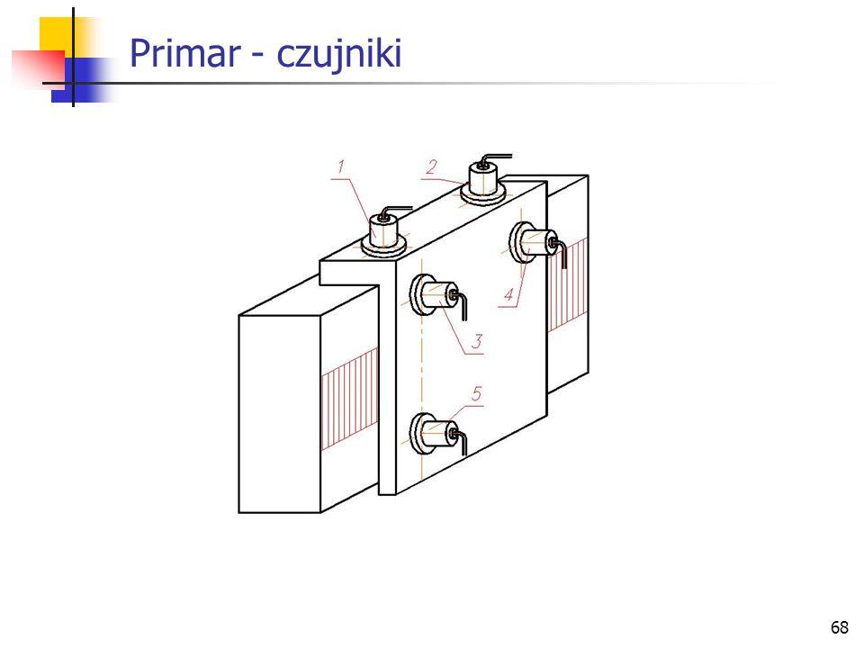 68 Primar - czujniki
