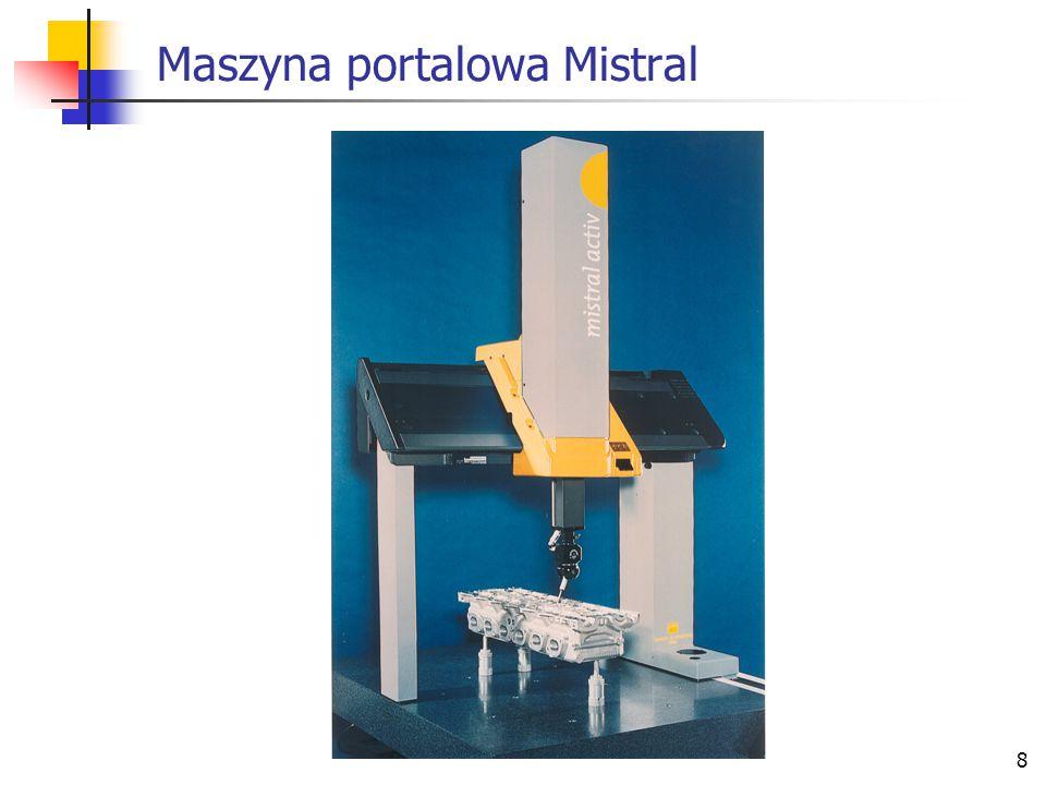 8 Maszyna portalowa Mistral