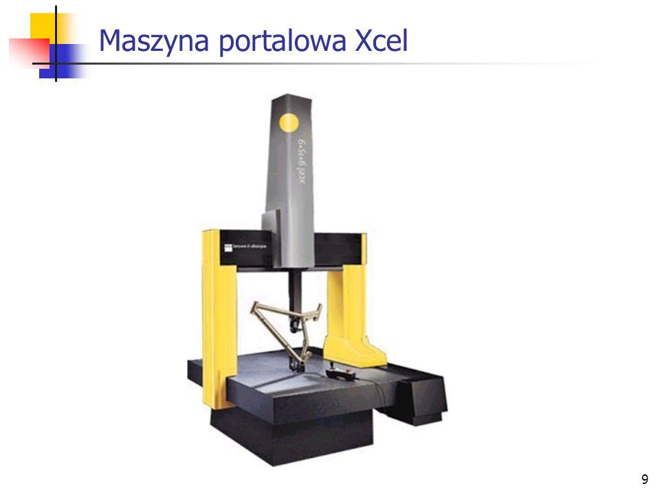 9 Maszyna portalowa Xcel