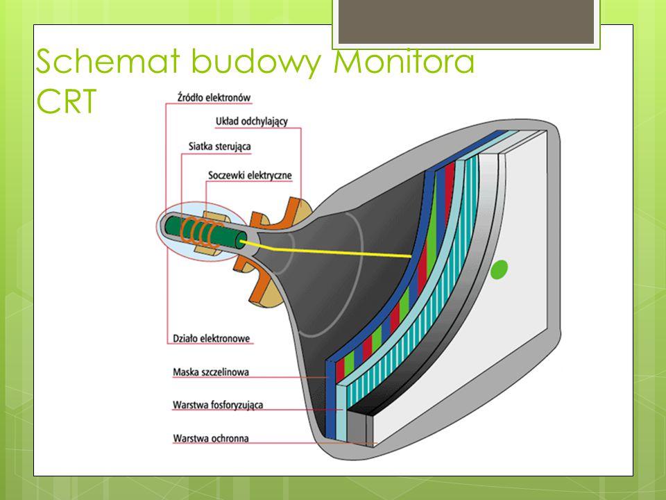Schemat budowy Monitora LCD