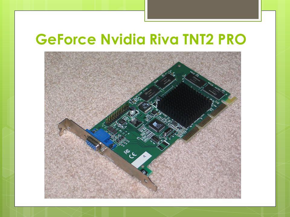 Informacje o karcie  Nvidia Riva TNT2 – model karty graficznej, wprowadzonej na rynek w 1999 roku przez firmę NVIDIA Corporation.