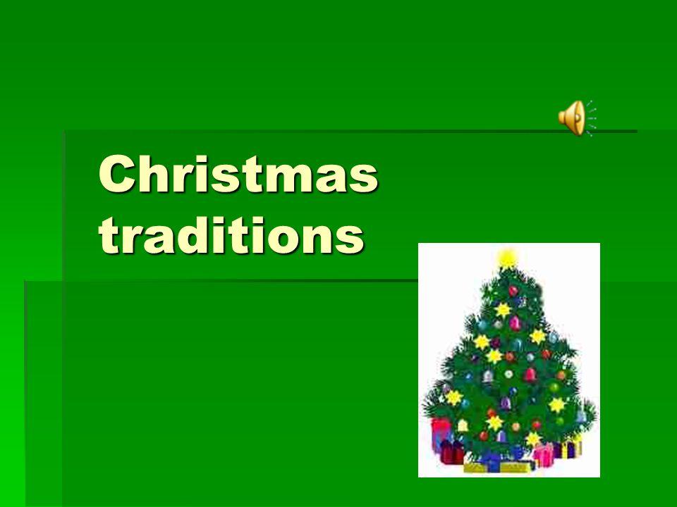 Christmas traditions- świąteczne tradycje  Christmas Eve-wigilia  Free place by the table- wolne miejsce przy stole  The first star – pierwsza gwiazda  Even number of persons-parzysta liczba osób  Breaking the wafer – łamanie się opłatkiem  12 dishes-12 potraw  Christmas midnight mass - pasterka