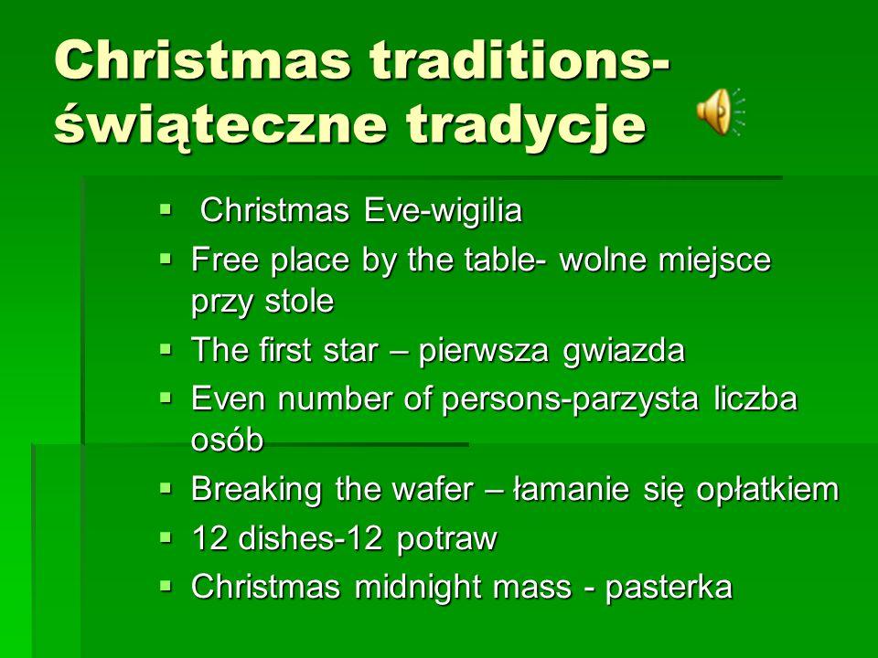 MERRY CHRISTMAS! MERRY CHRISTMAS! Wesołych świąt Wesołych świąt życzy życzy Zuzanna Ciep ł a kl. V