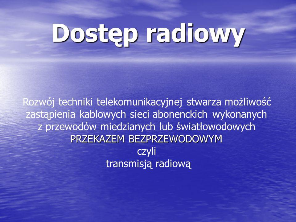 Parametry techniczne systemu DECT zakres częstotliwości 1880-1900 MHz 10 kanałów z odstepem miedzykanałowym 1728 kHz automatyczny wybór kanału, 12 szc