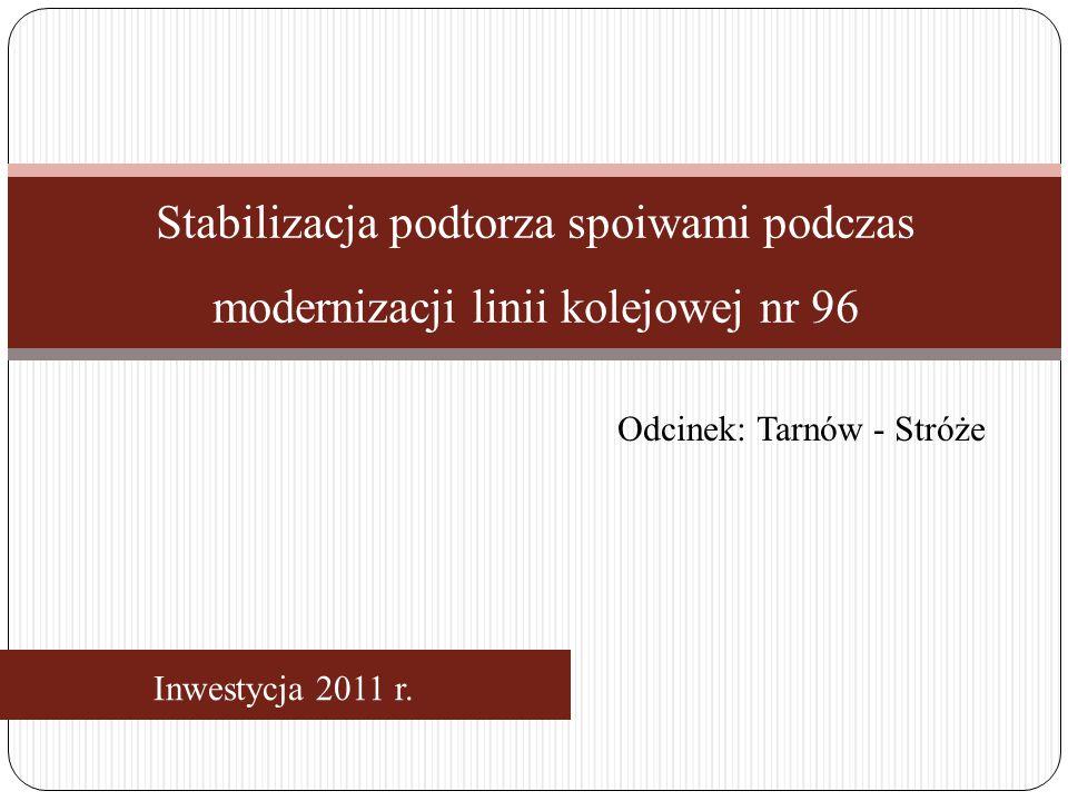 Inwestycja 2011 r.