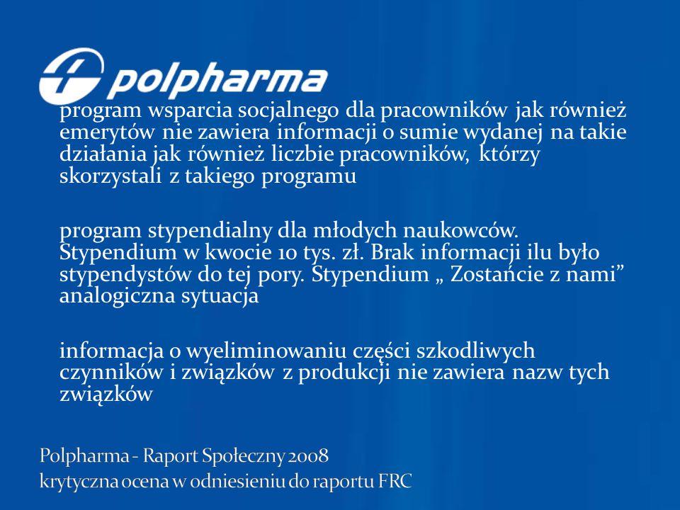 """informacja o tańszych lekach """"generycznych nie zawiera danych ile tych leków wyprodukowano."""
