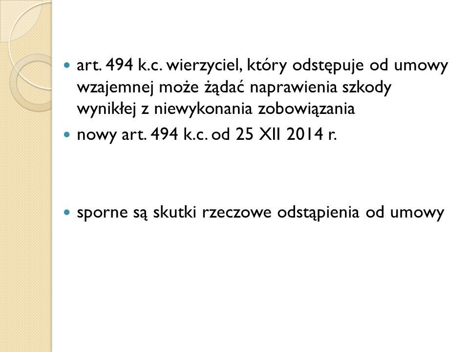 art.494 k.c.