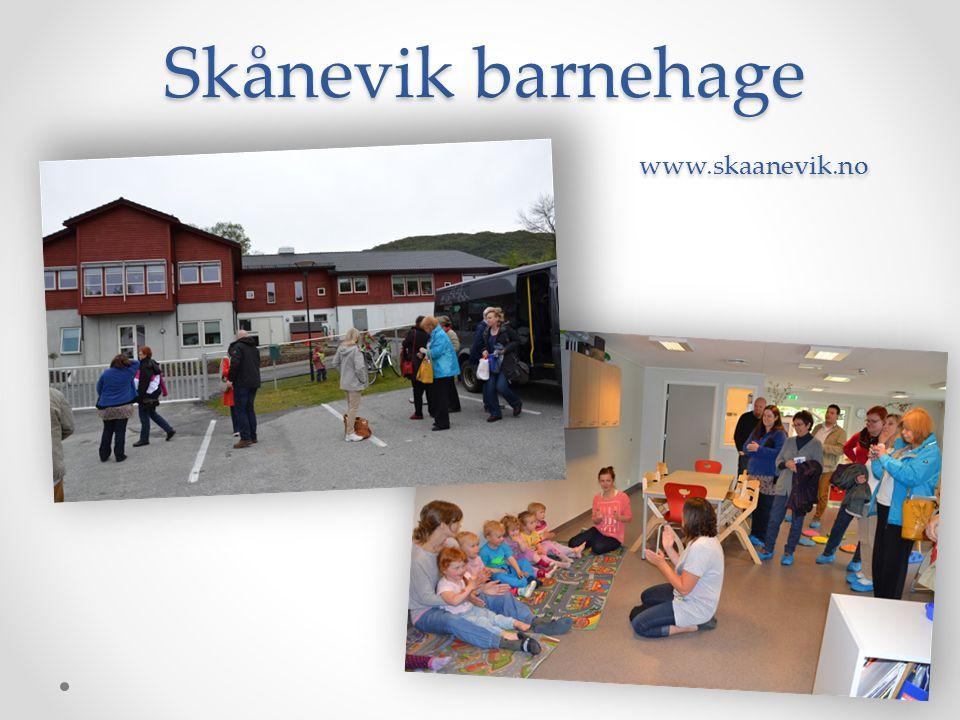 Skånevik barnehage www.skaanevik.no