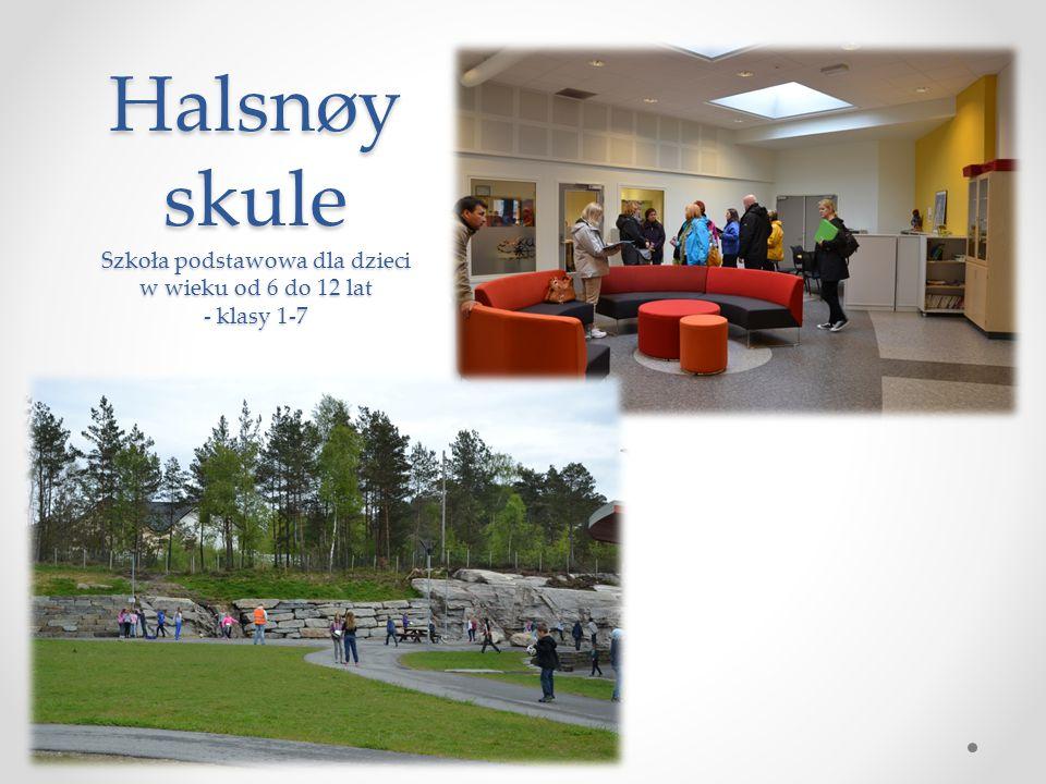 Halsnøy skule Szkoła podstawowa dla dzieci w wieku od 6 do 12 lat - klasy 1-7