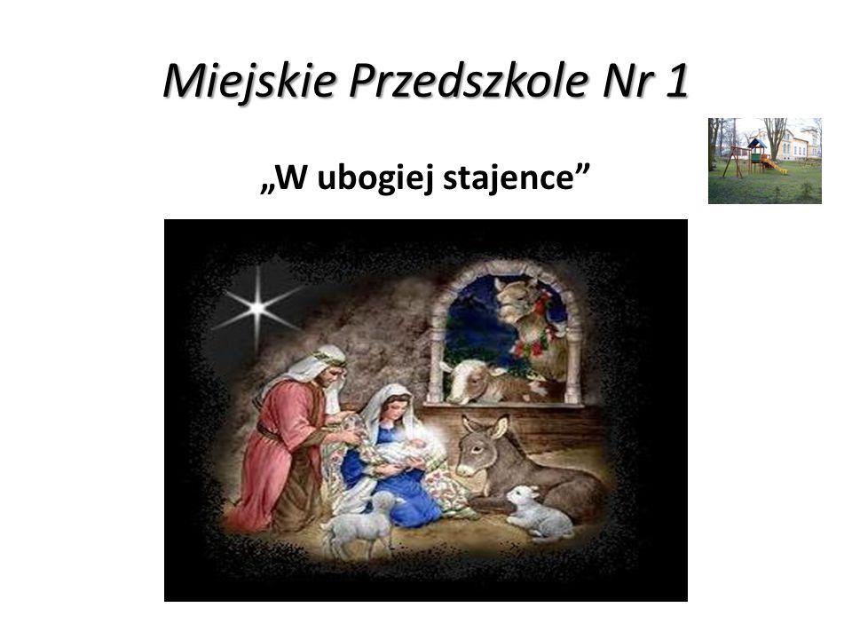 """Miejskie Przedszkole Nr 9 """"Gore gwiazda Jezusowi"""
