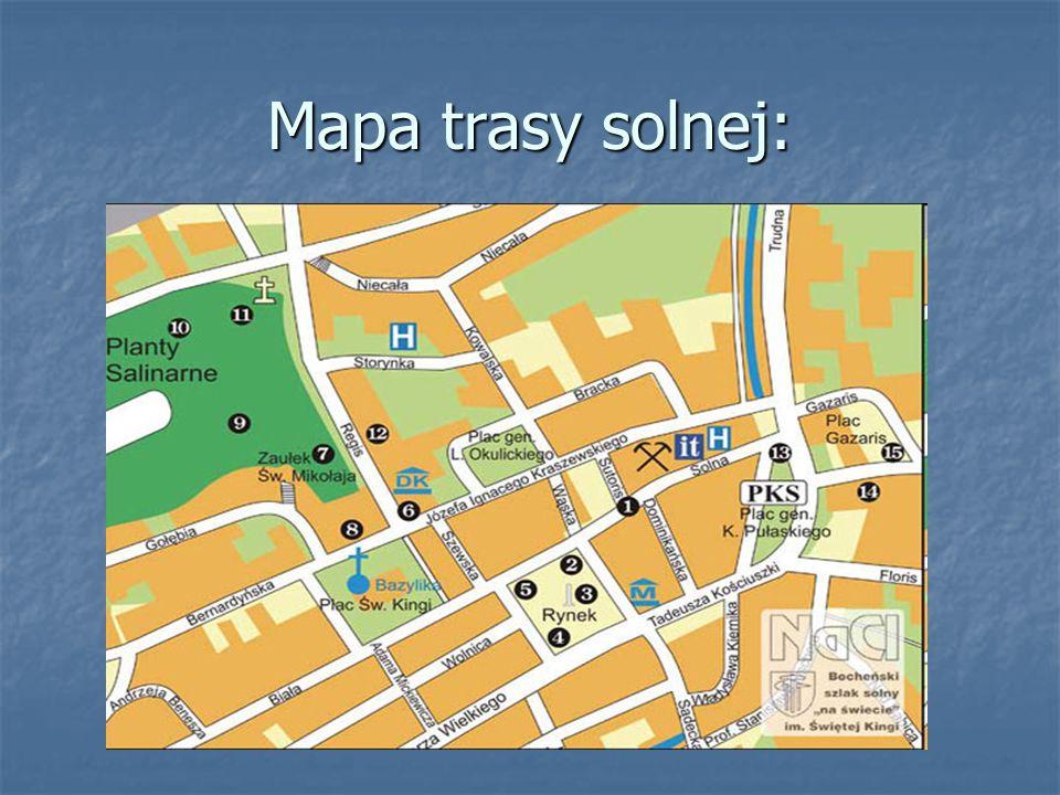 Mapa trasy solnej: