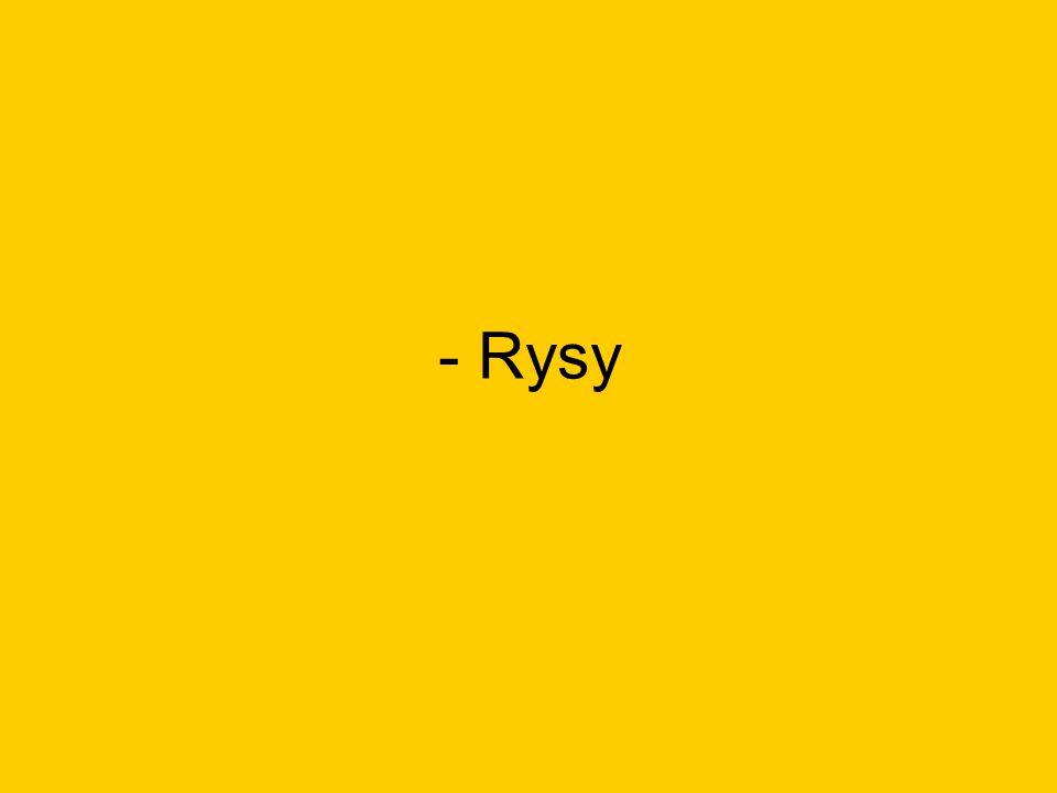 - Rysy
