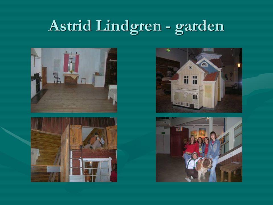 Astrid Lindgren - garden