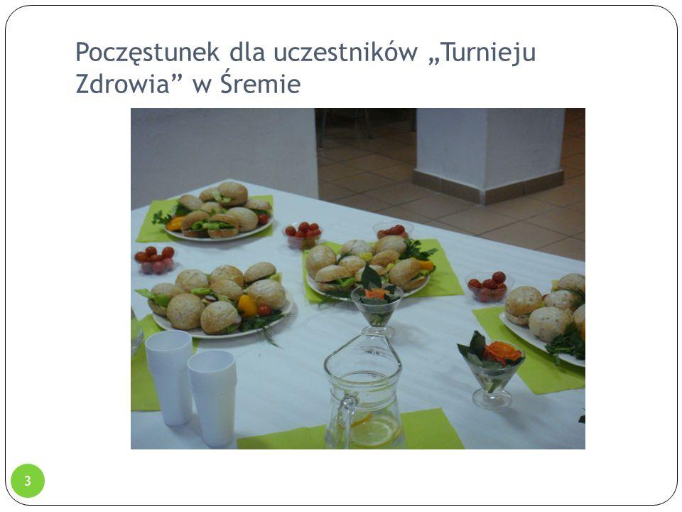 """Poczęstunek dla uczestników """"Turnieju Zdrowia"""" w Śremie 3"""