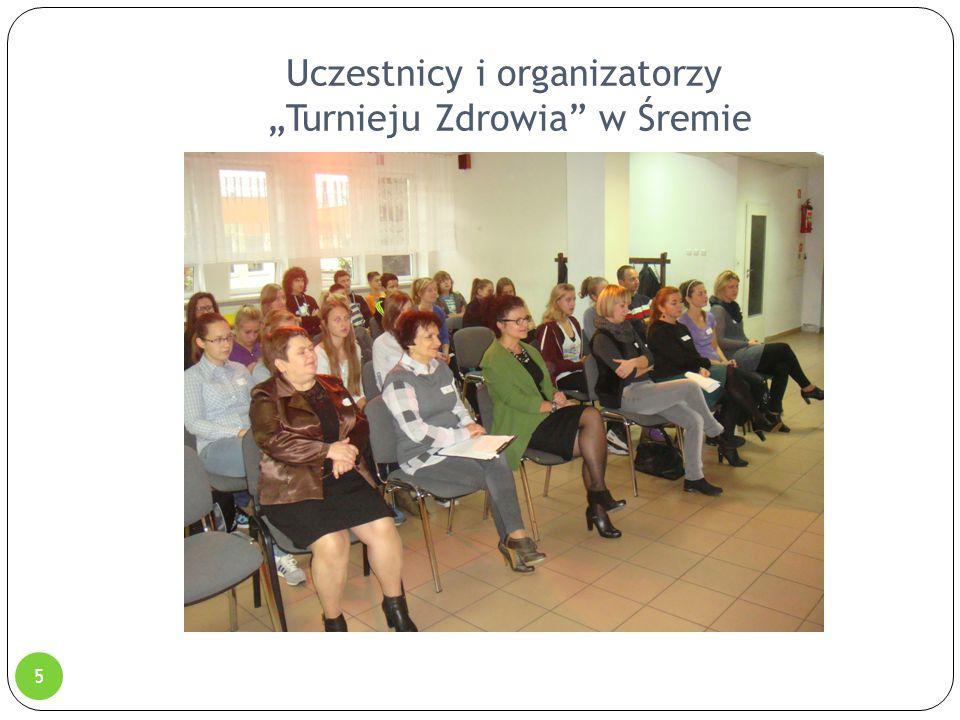 """Uczestnicy i organizatorzy """"Turnieju Zdrowia"""" w Śremie 5"""