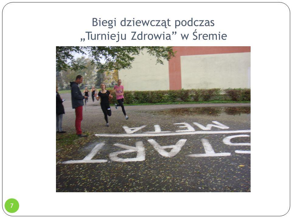 """Biegi dziewcząt podczas """"Turnieju Zdrowia"""" w Śremie 7"""